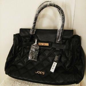 JOE'S Jeans Black Handbag Tote